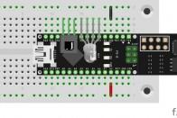 Das IR-Modul an Pins D7-D5
