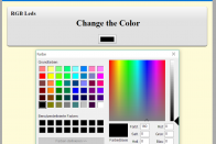Das Color-Picker-Element