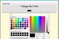 Das Color-Picker-Element
